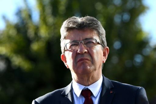 Le leader de la France insoumise Jean-Luc Mélenchon le 11 octobre 2017 à Grenoble © JEAN-PIERRE CLATOT AFP/Archives