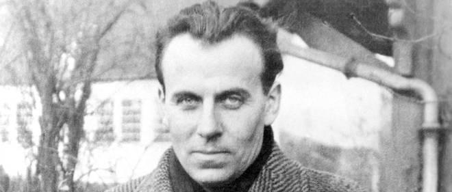 Le médecin et écrivain francais Louis Ferdinand Céline en 1934.