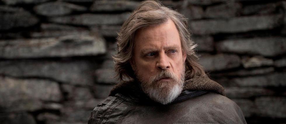 <p>Mark Hamill dans &#171;&#160;Star Wars : Les Derniers Jedi&#160;&#187;.</p>