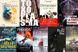 Neuf idées de romans de science-fiction, fantasy et jeunesse pour Noël.