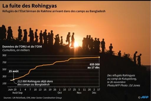 La fuite des Rohingyas  © Gal ROMA AFP