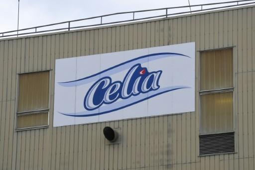L'usine de lait infantile de la société laitière Celia qui appartient au groupe Lactalis à Craon (ouest), le 4 décembre 2017   © DAMIEN MEYER AFP/Archives