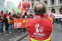 Lors d'une manifestation le 20 décembre à Paris contre les ordonnances travail.   ©