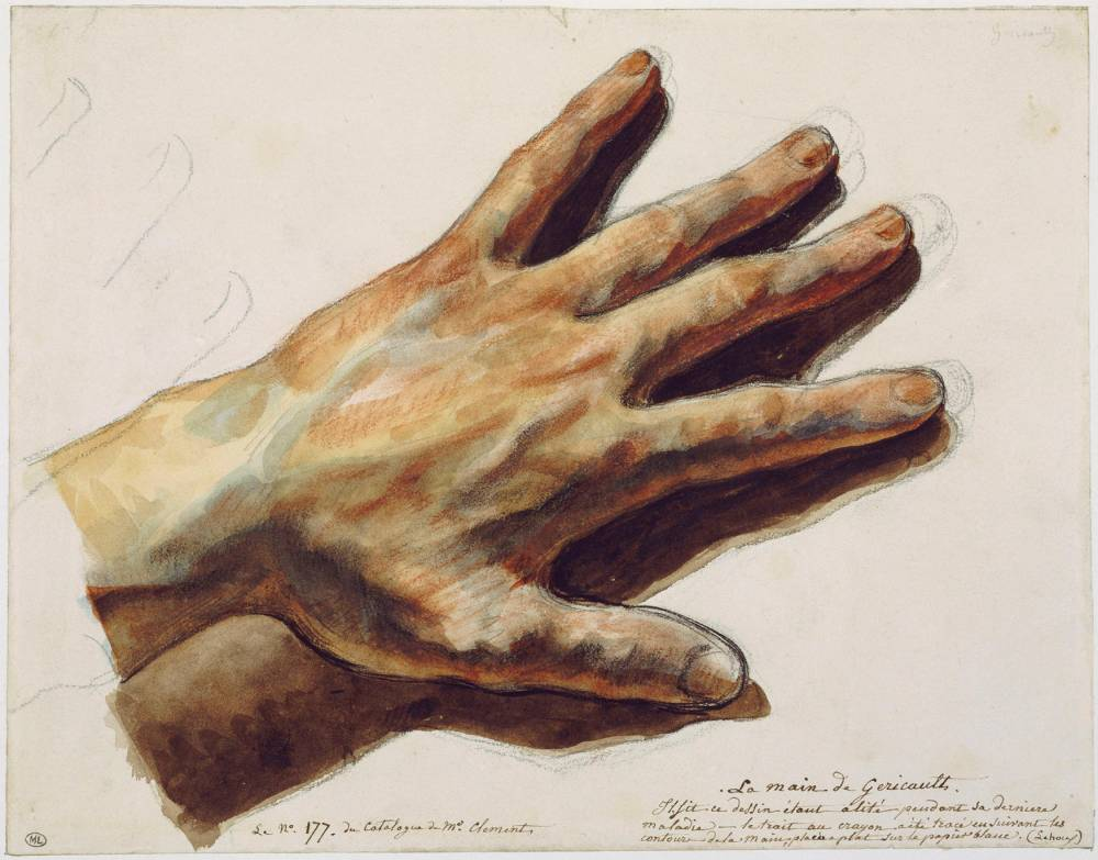 La main gauche de Gricault ©  Michle Bellot / RMN-GP / Agence photo de la RMN-GP / Michle Bellot RMN-GP/Seuil/SP