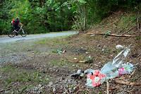 Le chemin forestier, situé près de Chevaline, où quatre personnes ont été abattues le 5 septembre 2012.