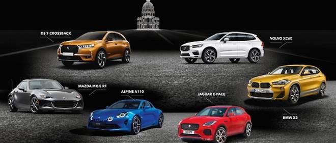 Il ne reste désormais plus que trois prétendantes à l'élection de «la plus belle voiture de l'année» : l'Alpine A110, la DS7 Crossback et la Volvo XC60.