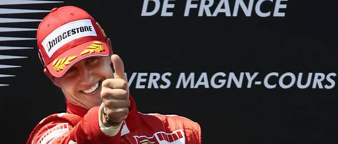Malgré son terrible accident, il y a quatre ans,Michael Schumacher, 7 titres de champion du monde, 91 victoires, 307 Grands Prix, reste dans toutes les mémoires.