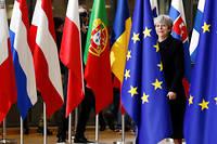 Theresa May participe au sommet européen le 14 décembre. Pour boucler le divorce avant de réexaminer les futurs liens, les parties ont dû mettre un mouchoir sur la question irlandaise...