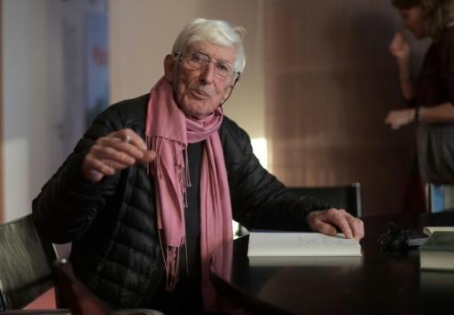 Le dessinateur et auteur Tomi Ungerer à Strasbourg le 24 novembre 2017 © PATRICK HERTZOG AFP/Archives