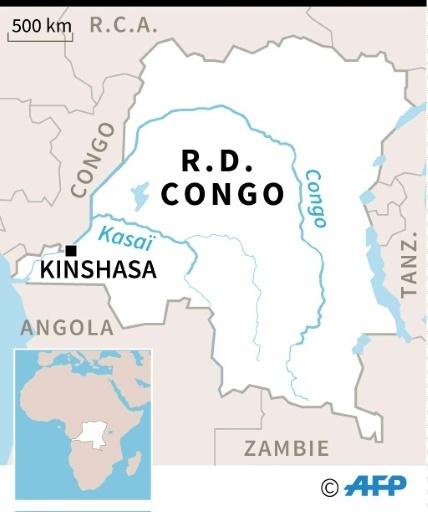 Kinshasa : des messes anti-Kabila dispersées © Sébastien CASTERAN AFP