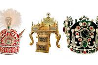La couronne des chahs Pahlavi, le trône du Paon et la couronne de Farah