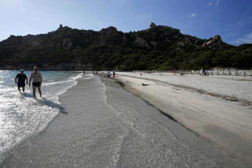 L'activité touristique progresse en Corse © PASCAL POCHARD-CASABIANCA AFP/Archives