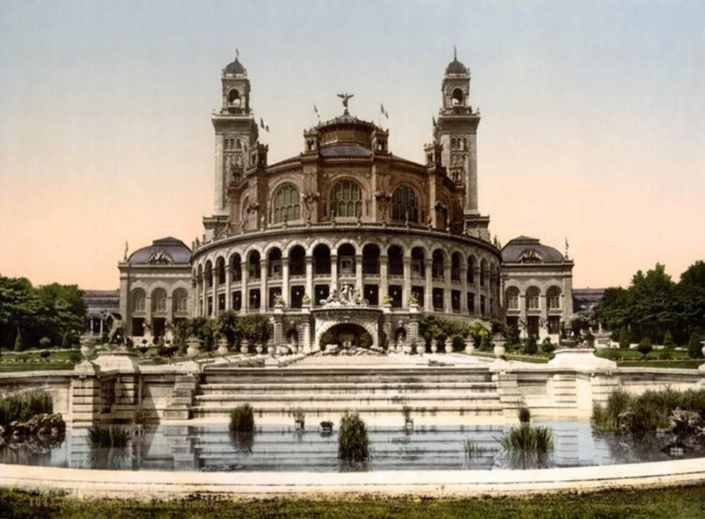 L'ancien Palais du Trocadéro, qui abritait le musée d'ethnographie. ©  Wikipedia