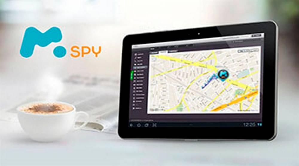 """Présentation de l'application """"mSpy"""" qui promet de """"Savoir. Prévenir. Protéger"""" ©  mSpy"""