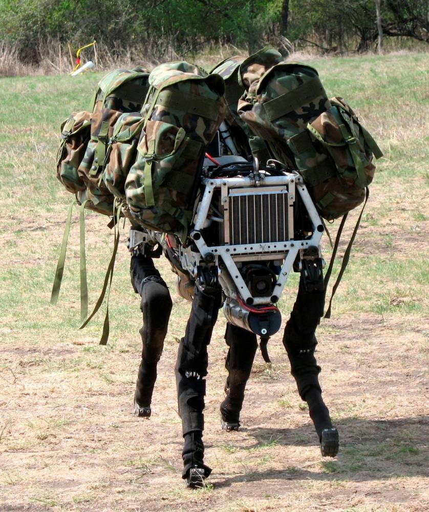 """""""BigDog"""", robot de terrain développé par la société Boston Dynamics  ©  Boston Dynamics"""