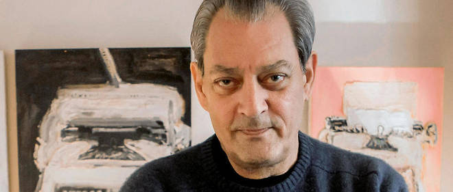 Antre. Paul Auster dans son appartement de Park Slope, à Brooklyn, le 11 décembre.