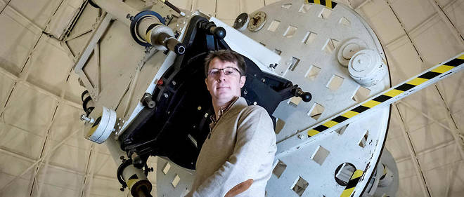 Tête chercheuse. Guy Perrin (ici sur le site de Meudon de l'Observatoire de Paris, le 10novembre 2017) dirige la division astronomie et astrophysique de l'Institut national des sciences de l'Univers (CNRS-INSU).