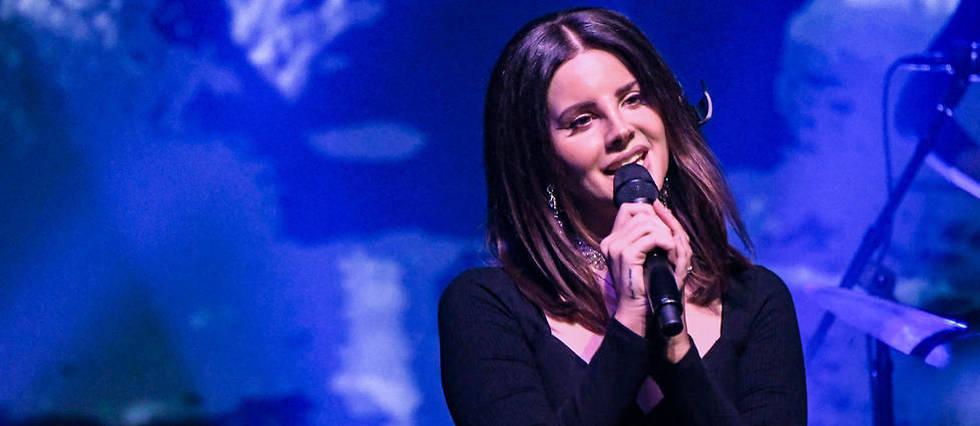 <p>Lana Del Rey en concert &#224; New York, le 23 octobre dernier.</p>