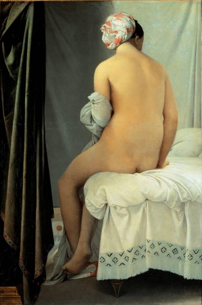 « La baigneuse dite baigneuse Valpinçon » © Musee du Louvre Luisa ricciarini/leemage leemage