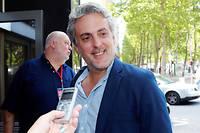 Sébastien Denaja, membre de la direction collégiale et porte-parole du Parti socialiste, le 8 juillet 2017.  ©JACQUES DEMARTHON