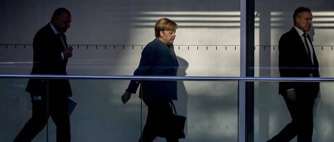 Angela Merkel espère trouver une issue favorable aux négociations.