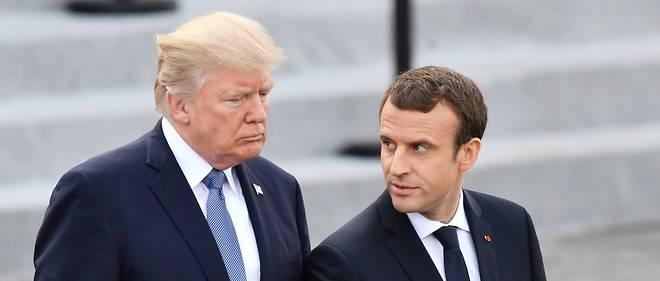 Le président français a également abordé le dossier nord-coréen avec son homologue américain.