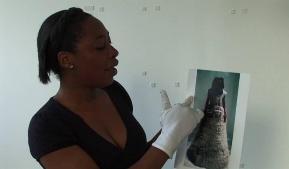 La plasticienne nigériane Otobong Nkanga a déjà exposé dans les plus prestigieuses institutions comme le Stedelijk Museum d'Amsterdam, le Kunst-Werke à Berlin et la Tate Modern à Londres. ©  Museum