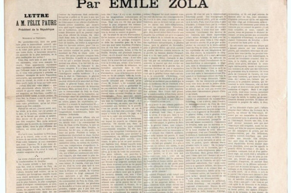 J Accuse Il Y A 120 Ans Le Cri D Emile Zola Le Point