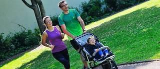 Une étude a démontré que courir en souriant provoque une moindre consommation d'oxygène (VO2).  ©Fred Poirier