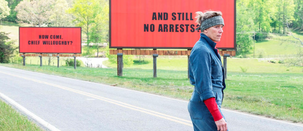 <p>Frances McDormand dans 3 Billboards : les panneaux de la vengeance</p>