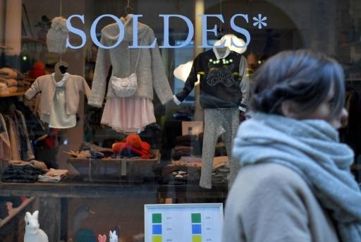 Soldes, le 12 janvier 2018 à Nantes (Loire Atlantique)    © LOIC VENANCE AFP/Archives