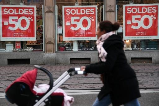 Soldes, le 10 janvier 2018 à Strasbourg   © FREDERICK FLORIN AFP/Archives