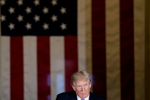Le président américain Donald Trump le 17 novembre © Brendan Smialowski AFP/Archives