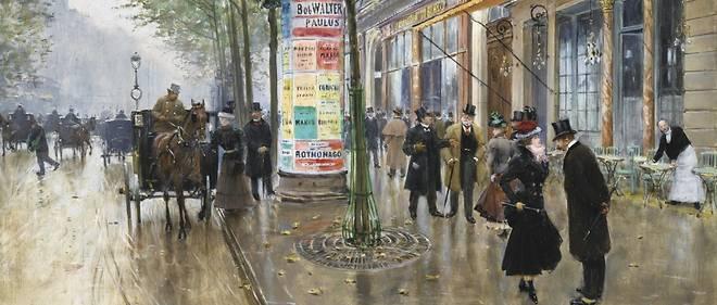 Grands Boulevard par Jean Béraud