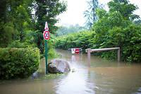 La France fait face à de nombreuses crues provoquant des inondations.  ©Cyril Abad
