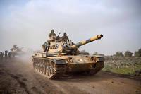 Les blindés turcs entrent dans la région d'Afrin, au nord de la Syrie. Une offensive qui piétine, mais qui a suscité une réaction très molle de la part des Occidentaux.