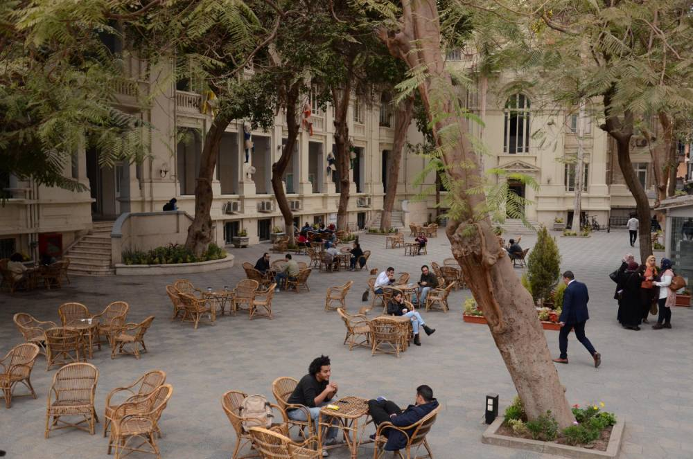 Greek campus ©  Ariane Lavrilleux
