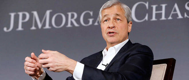 Jamie Dimon, PDG de JPMorgan, le 4 avril 2017.