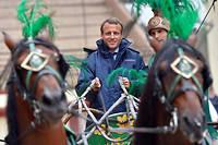 «Peu importe pour l'instant la couleur idéologique de Macron, s'il continue à gouverner à droite et à gauche», estime Philippe Tesson. Illustration.