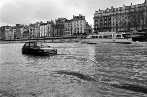 La crue de la Seine à Paris, le 18 décembre 1982 © Jacques DEMARTHON AFP/Archives