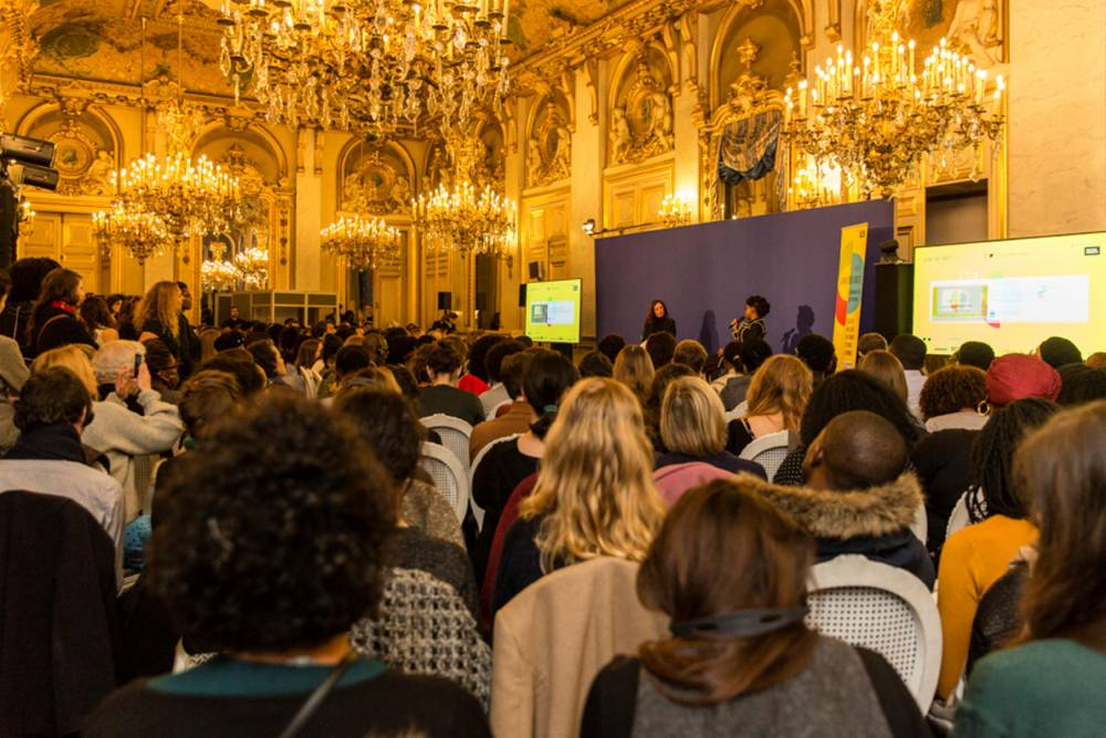 Nuit des Ides 2018 au Quai d'Orsay en présence de l'écrivaine nigériane Chimamanda Ngozi Adichie. Vinciane Lebrun/Voyez-Vous. ©  Vinciane Lebrun-Verguethen