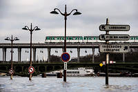L'Île-de-France compte parmi les régions également très pluvieuses en ce premier mois de l'année, mais n'a pas (encore) battu son record.  ©CHRISTOPHE ARCHAMBAULT