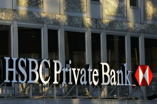 HSBC Private Bank va verser 300 millions d'euros pour éviter un procès en France © FABRICE COFFRINI AFP/Archives