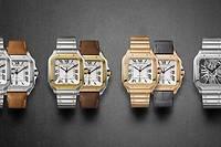 Cartier relance la toute première montre-bracelet de l'histoire : un garde-temps au boîtier carré.