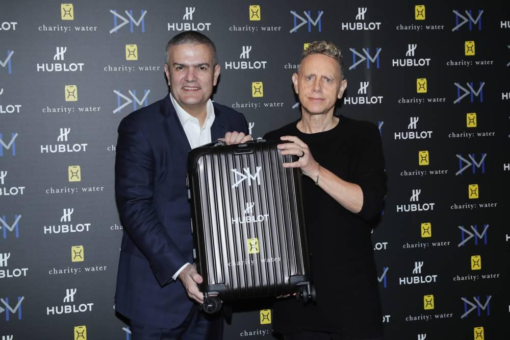 Big Bang Depeche Mode 'The Singles' Limited Edition Launch © Vittorio Zunino Celotto Vittorio Zunino Celotto / Getty Images Europe / Getty Images for Hublot