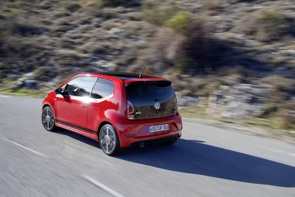 Der neue Volkswagen up! GTI ©  Volkswagen AG / Volksvagen