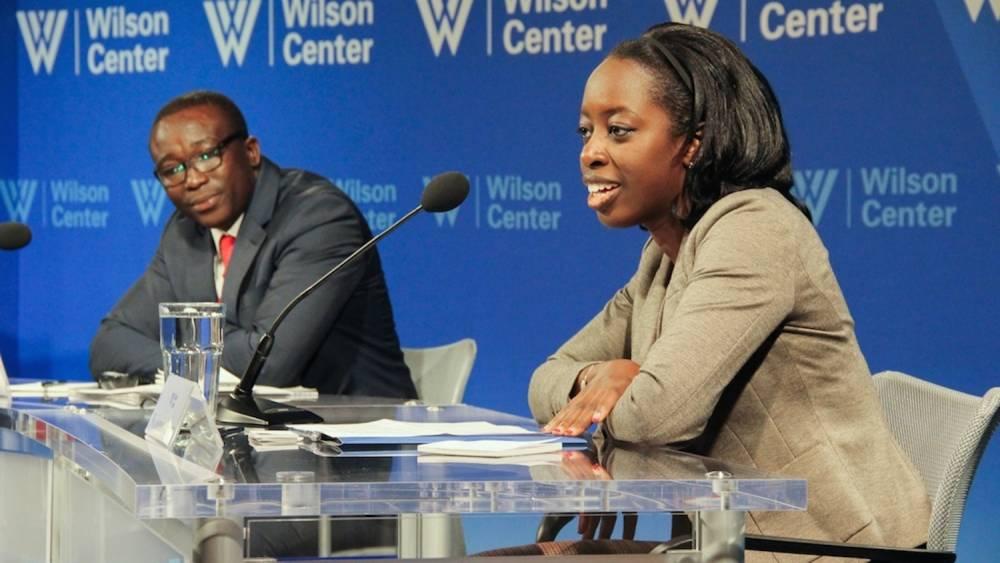Kamissa Camara, elle est Franco-Malienne et a souhaité réagir à la chronique du journaliste Vincent Hervouet.  ©  The Wilson Center Africa Program