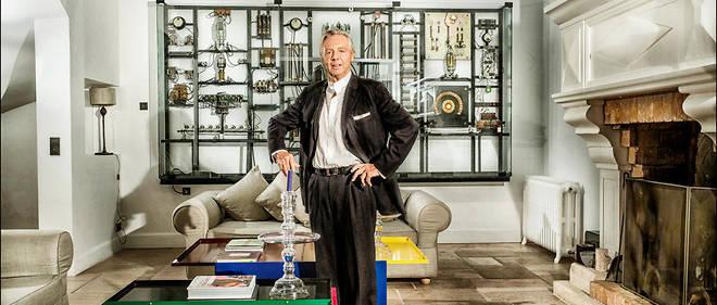 Audace. Philippe Austruy à son domicile parisien, en janvier. Lemultimillionnaire de 68 ans a d'abord investi dans lescliniques privées, puis dans les maisons de retraite et les soins àdomicile, avant de s'intéresser aux crèches.