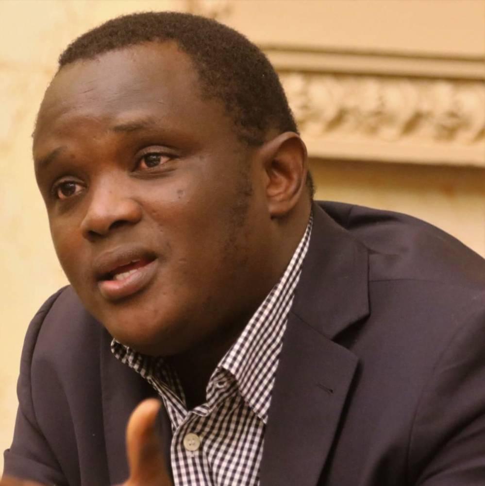 Kabinet Fofana préside l'Association guinéenne des sciences politiques, créée en 2012.  ©  DR
