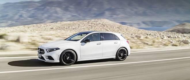 Mercedes Classe A Le Triomphe Du Tout Numerique Automobile